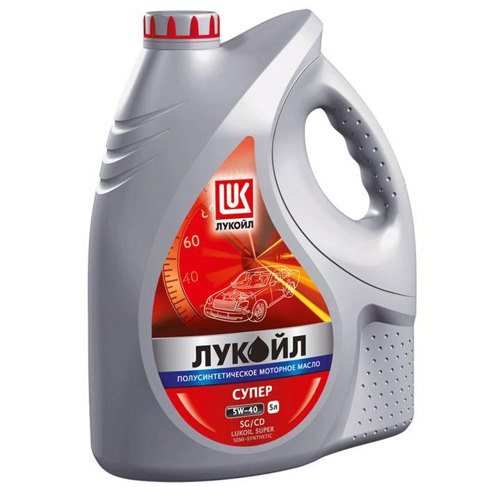 Масло моторное Лукойл Супер 5W-40, 5 л