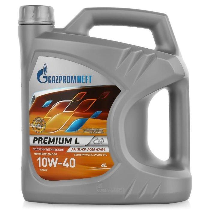 Масло моторное Gazpromneft Premium L 10W-40, 5 л