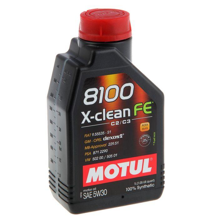 Масло моторное Motul 8100 X-clean FE 5w-30, 1 л