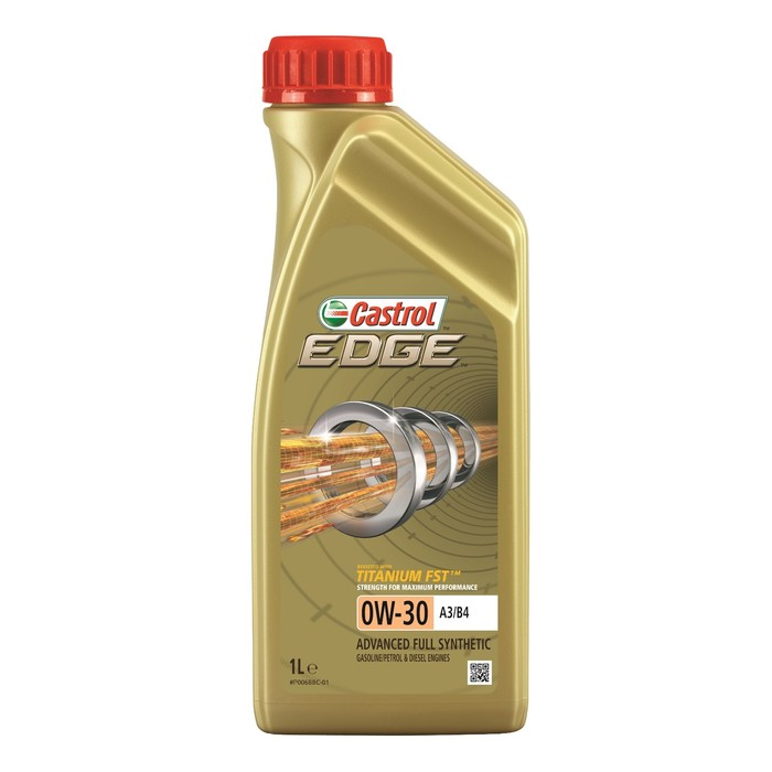 Масло моторное Castrol EDGE Titanium 0W-30 A3/B4, 1 л