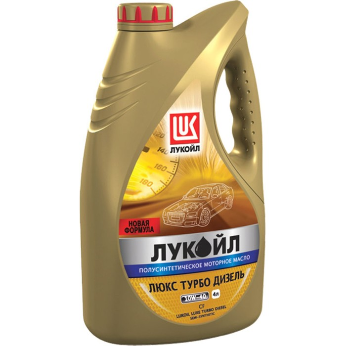 Масло моторное Лукойл Люкс Турбо Дизель 10W-40, 4 л