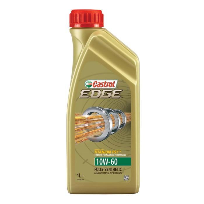 Масло моторное Castrol EDGE Titanium 10W-60, 1 л