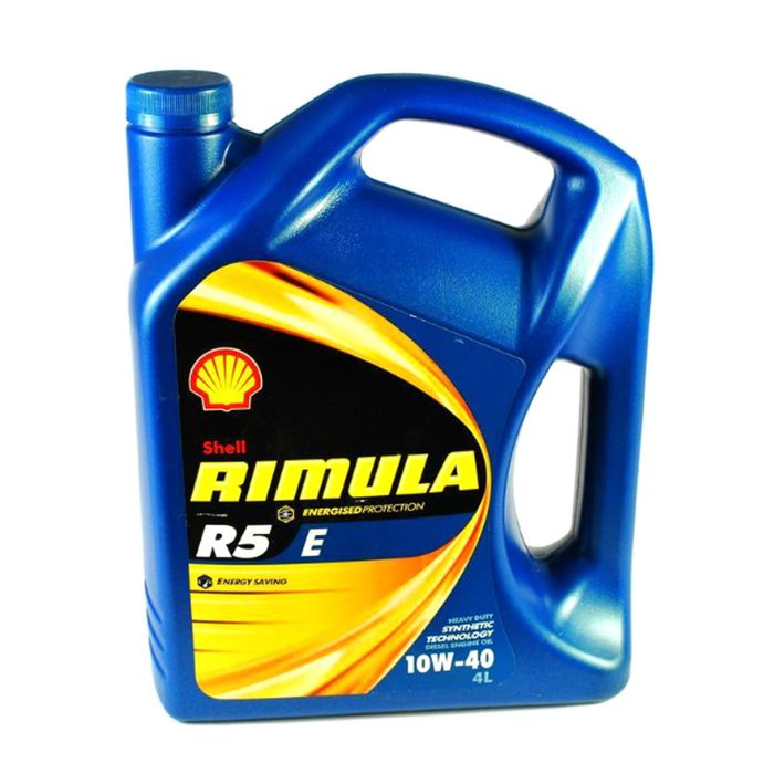 Масло моторное Shell Helix RIMULA R5 E 10W-40, 4 л