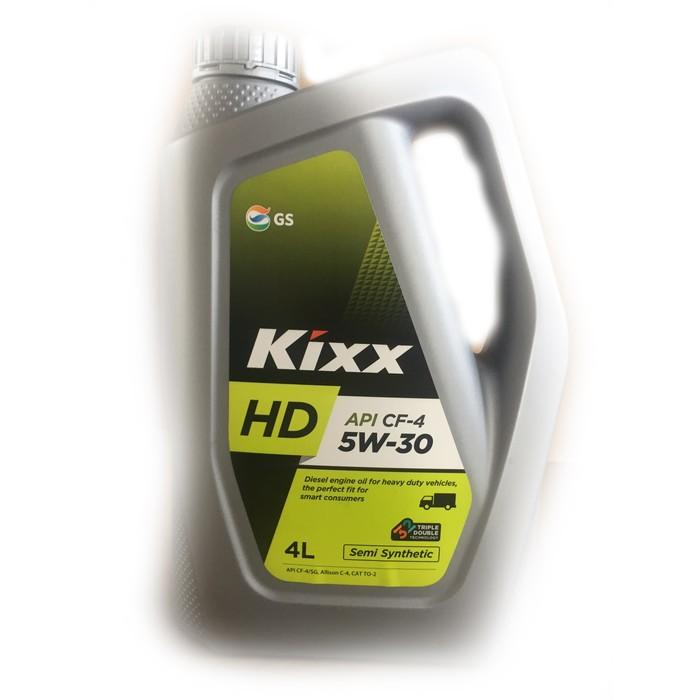 Масло моторное  Kixx HD CF-4 5W-30 Dynamic, 4 л