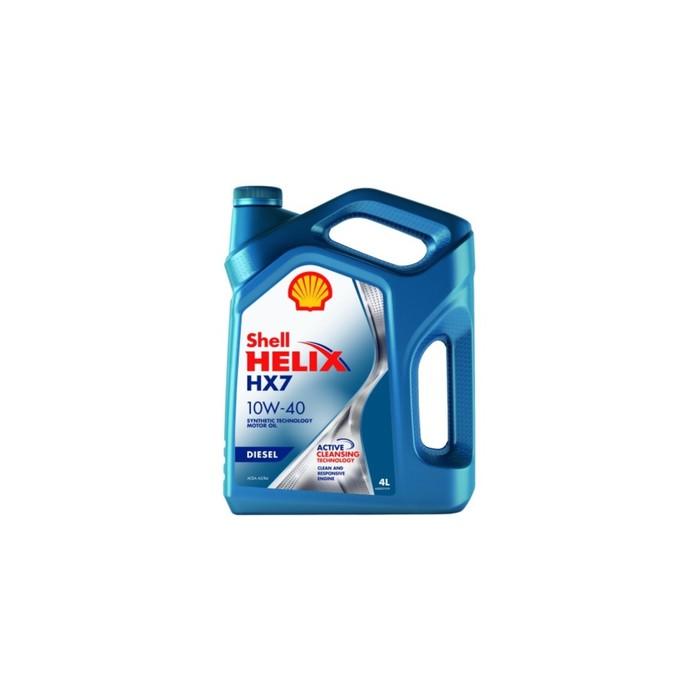 Масло моторное Shell Helix DIESEL HX7 10W-40, 4 л