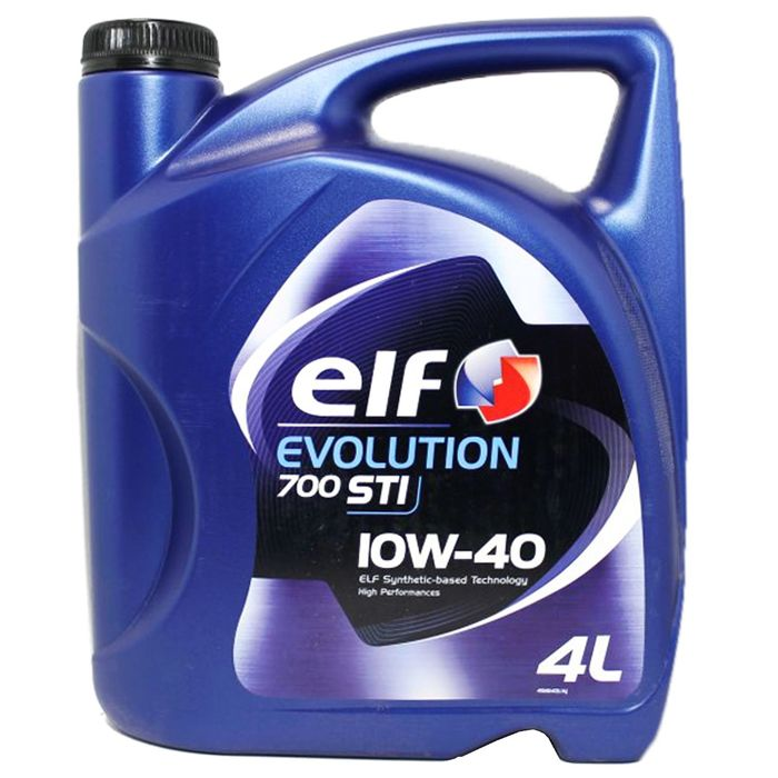 Масло моторное Elf Evolution 700 STI 10W-40, 4 л