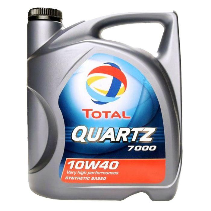 Масло моторное Total Quartz 7000 10W-40, 4 л