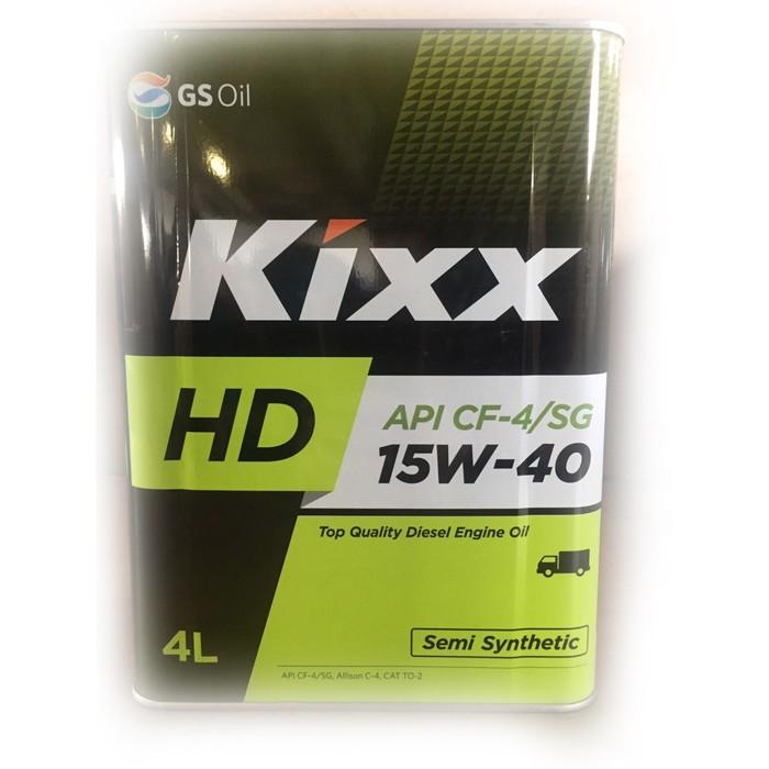 Масло моторное  Kixx HD CF-4 15W-40 Dynamic, 4 л мет.