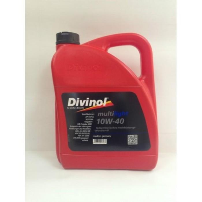 Масло моторное DIVINOL Multilight 10W-40, 4 л