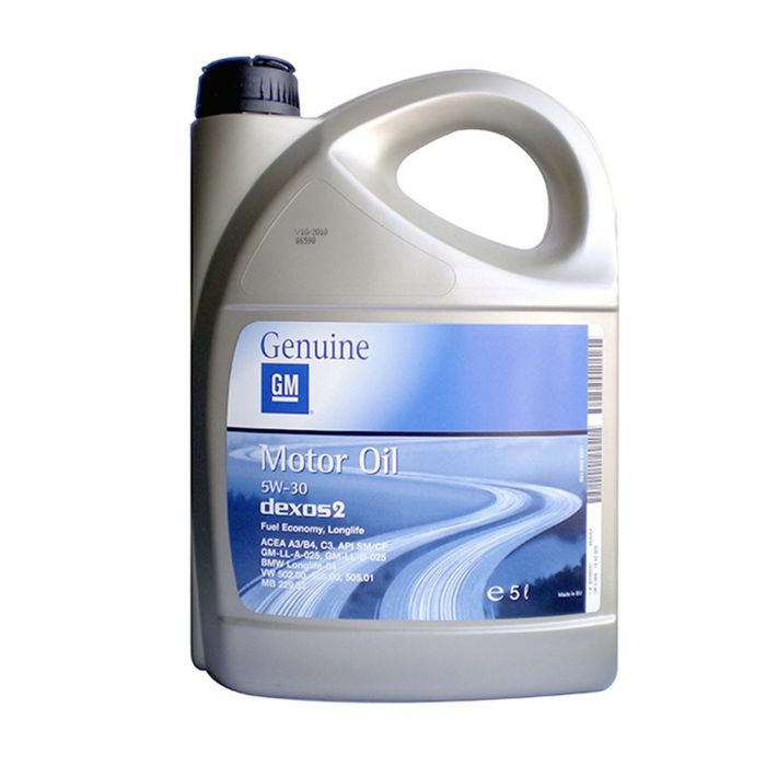Моторное масло GM 5W-30, 5л