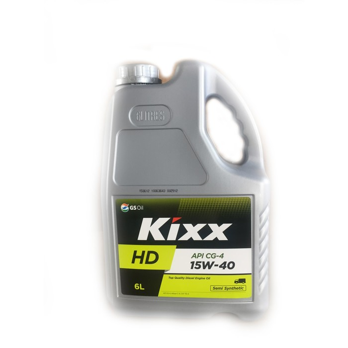 Масло моторное  Kixx HD CG-4 15W-40 Dynamic, 6 л