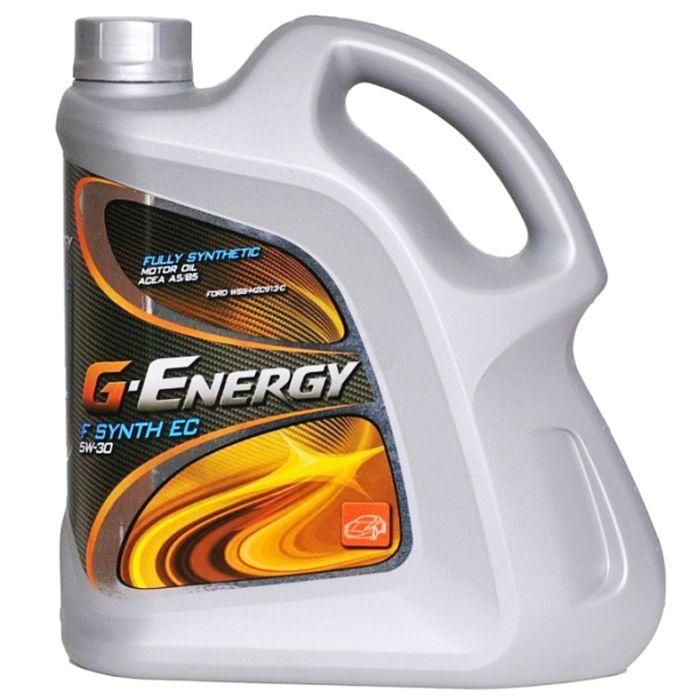 Масло моторное G-Energy F Synth EC 5W-30, 4 л