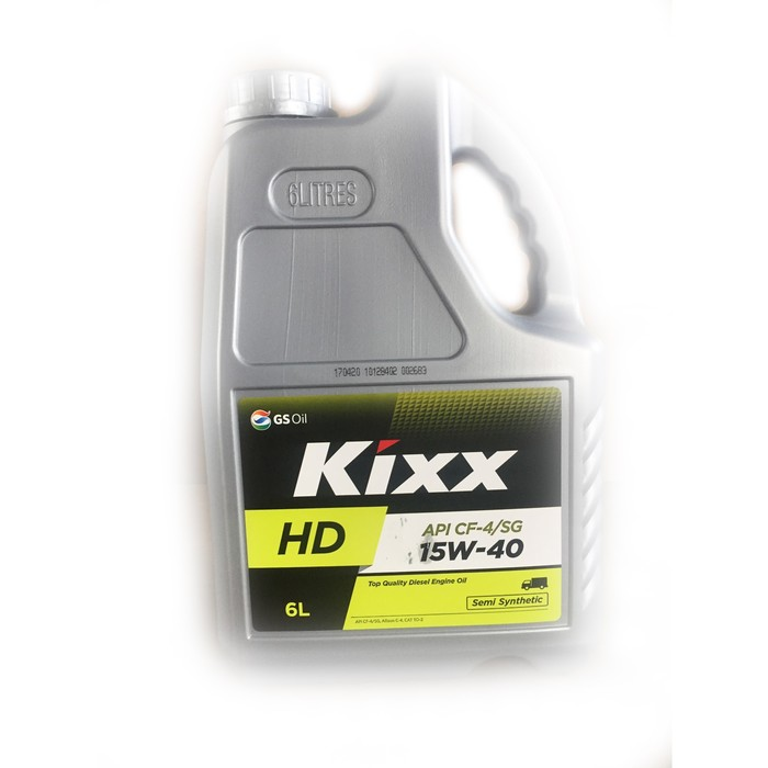 Масло моторное  Kixx HD CF-4 15W-40 Dynamic, 6 л