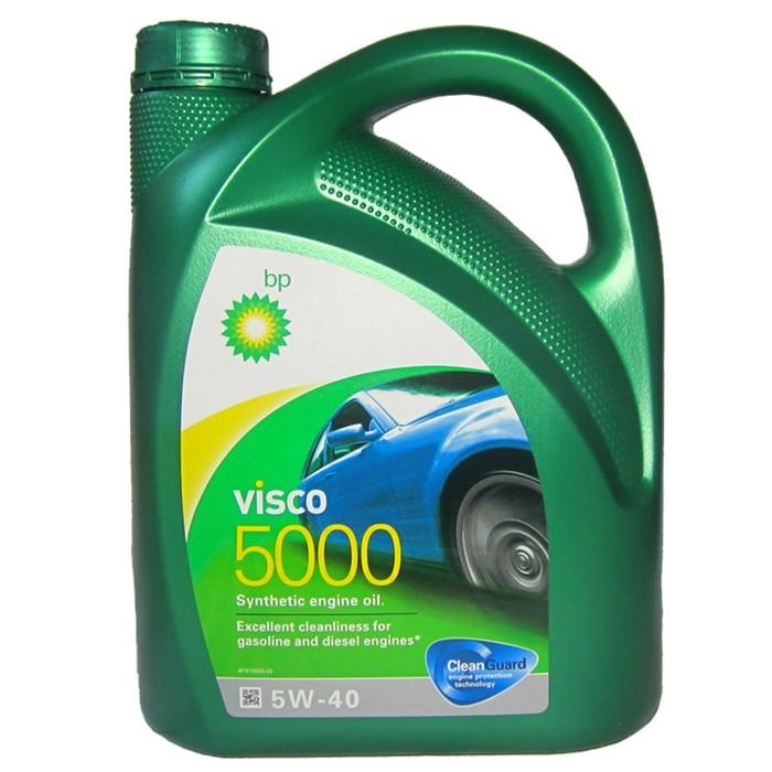 Масло моторное Visco 5000 5W-40, 4 л