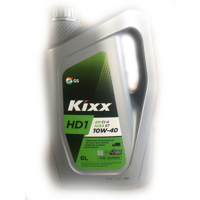 Масло моторное  Kixx HD1 CI-4 10W-40 D1, 6 л