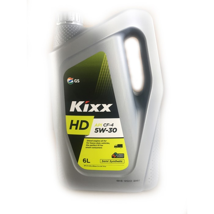 Масло моторное  Kixx HD CF-4 5W-30 Dynamic, 6 л