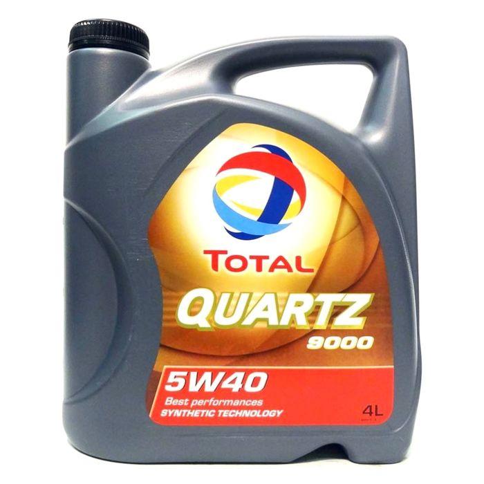 Масло моторное Total Quartz 9000 5W-40, 4 л