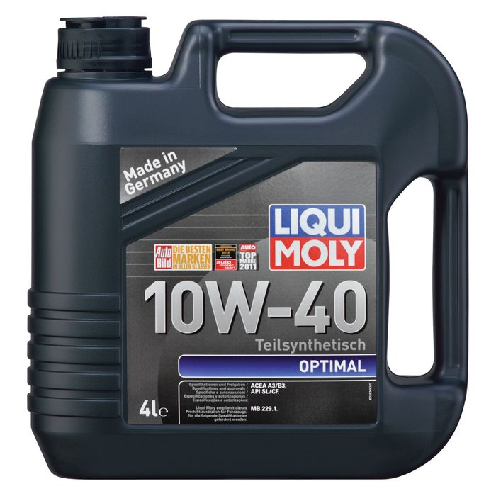 Масло моторное  Liqui Moly Optimal 10W-40, 4 л