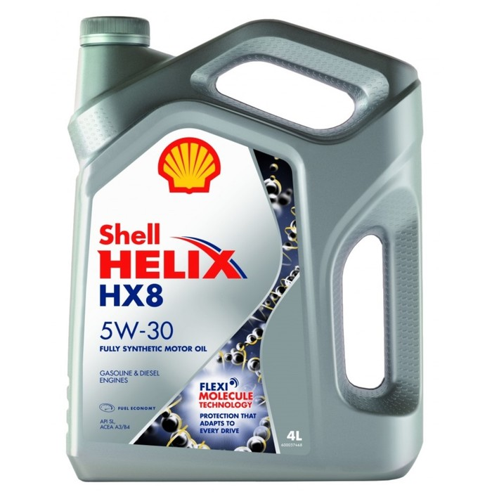 Масло моторное Shell Helix HX8 5W-30, 4 л