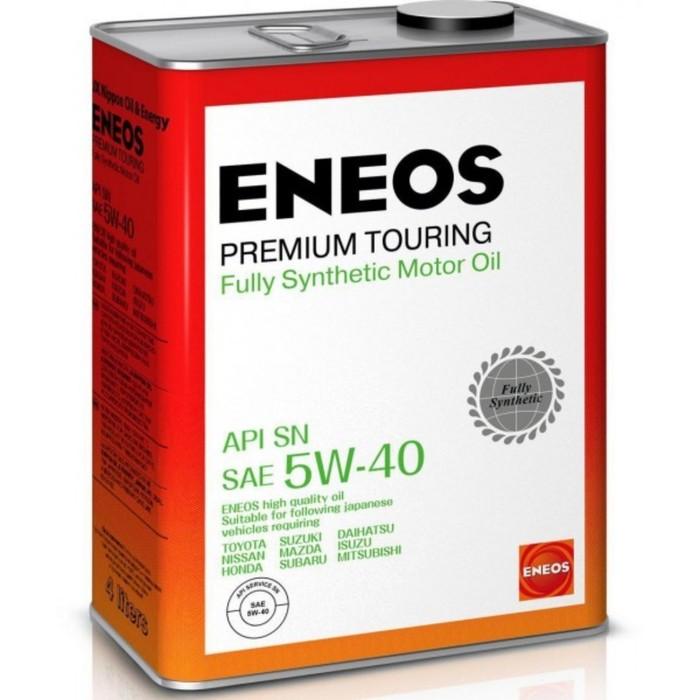 Масло моторное ENEOS Premium Touring SN 5W-40, 4 л