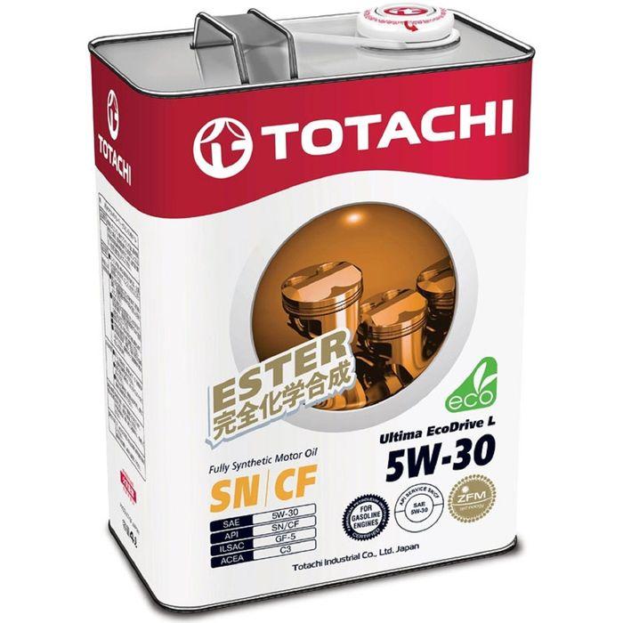 Масло моторное  Totachi Ultima EcoDrive L Fully Synthetic SN/CF 5W-30, 4 л