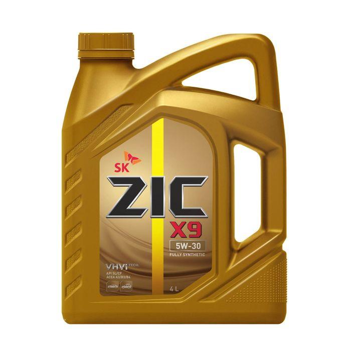 Масло моторное ZIC 5W-30 X9 LS синт., 4 л