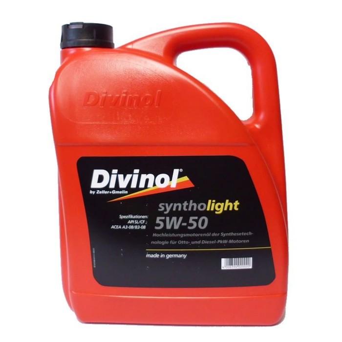 Масло моторное DIVINOL Syntholight 5W-50, 5 л