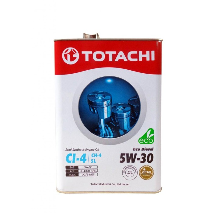 Масло моторное  Totachi Eco Diesel Semi-Synthetic SL 5W-30, 6 л