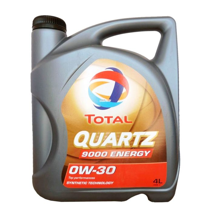 Масло моторное Total Quartz 9000 ENERGY 0W-30, 4 л