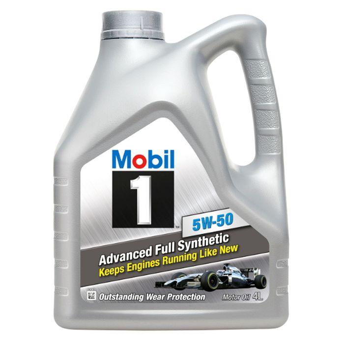 Масло моторное Mobil 1 5w-50, 4 л