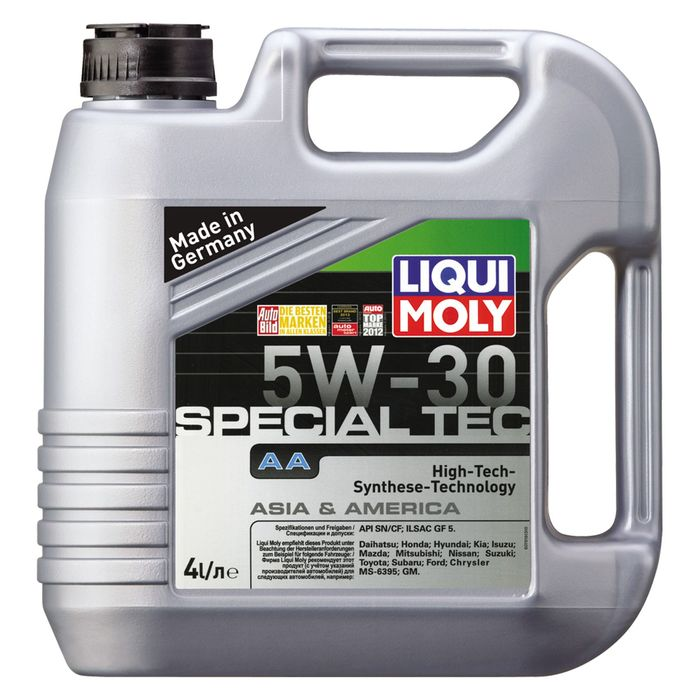 Масло моторное  Liqui Moly Leichtl Special AA 5W-30, 4 л