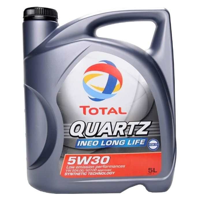 Масло моторное Total Quartz INEO LONG LIFE 5W-30, 5 л