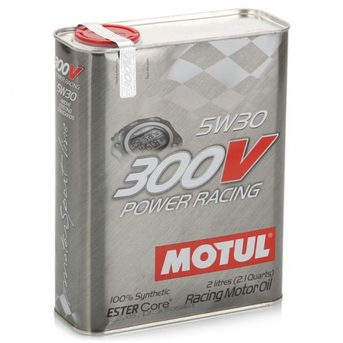 Моторное масло MOTUL 300 V Power Racing 5W-30, 2 л