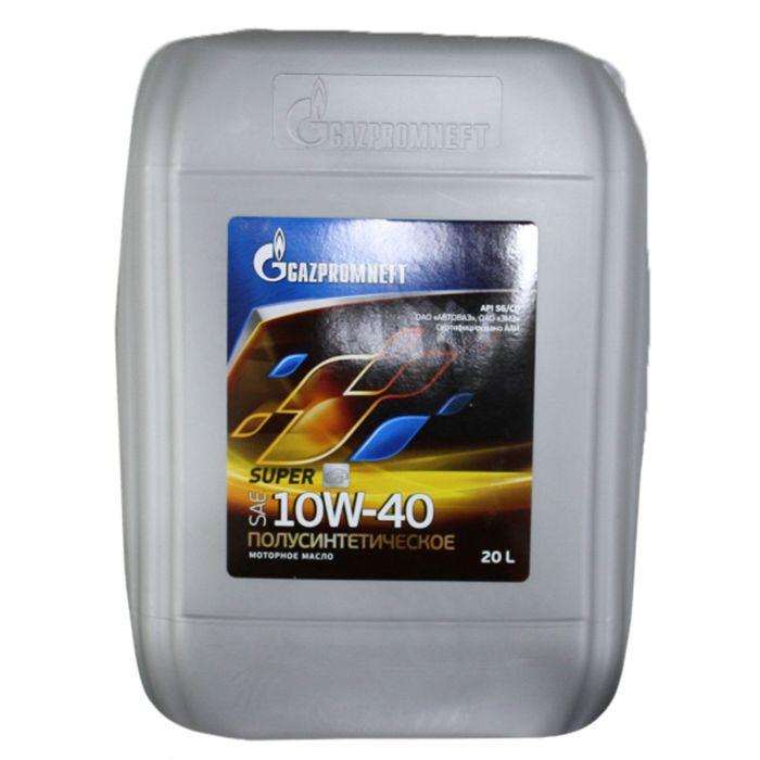Масло моторное Gazpromneft Super 10W-40, 20 л