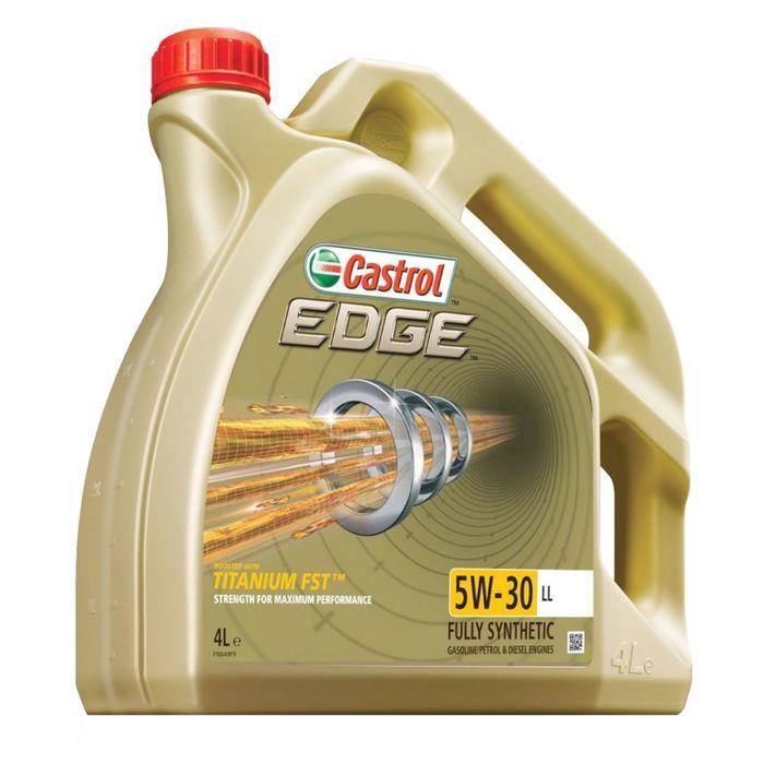 Масло моторное Castrol EDGE Titanium 5W-30 LL, 4 л