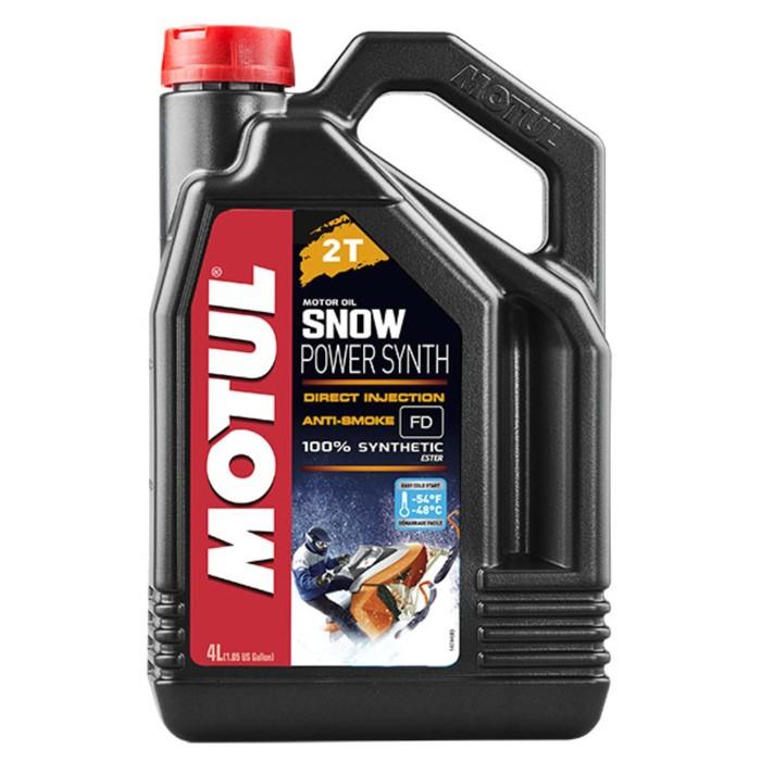 Масло моторное Motul SNOWPOWER SYNTH 2T, 4 л