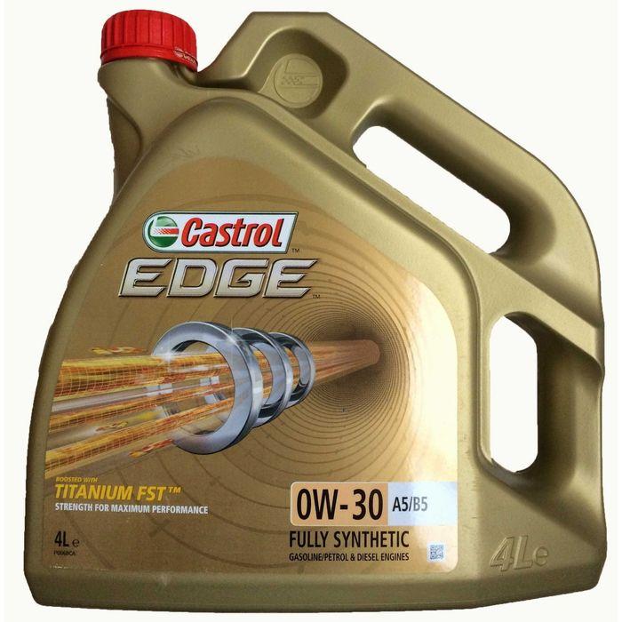 Масло моторное Castrol EDGE Titanium 0W-30 A5/B5, 4 л