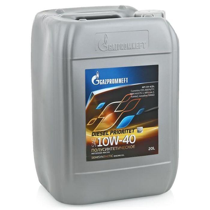 Масло моторное Gazpromneft Diesel Prioritet 10W-40, 20 л