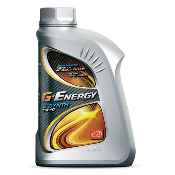 Масло моторное G-Energy S Synth 10W-40 API SL/CF, 1 л