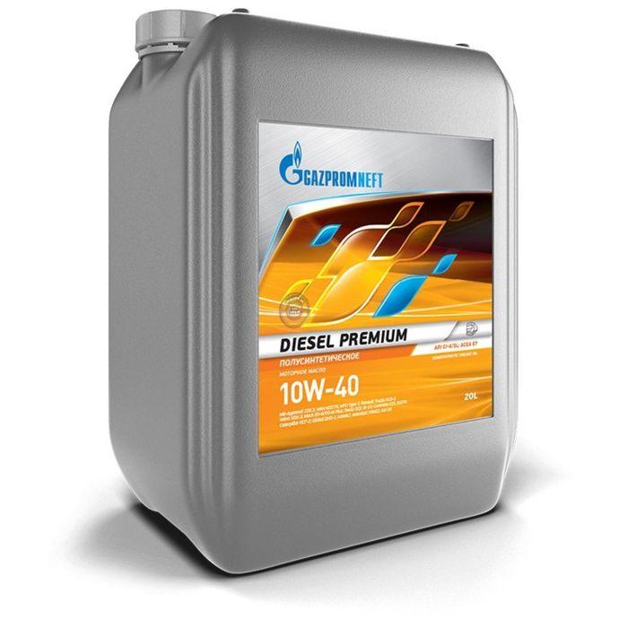 Масло моторное Gazpromneft Diesel Premium 10W-40, 20 л