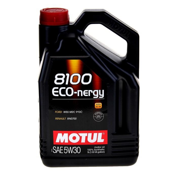 Масло моторное Motul 8100 ECO-nergy 5w-30, 5 л