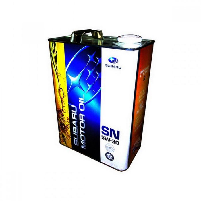 Моторное масло SUBARU MOTOR OIL SN/GF-5 5/30, 4 л