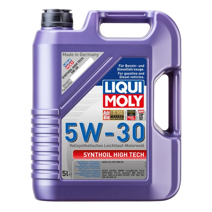 Масло моторное  LiquiMoly  5W-30 Syntohoil High Tech, 5 л