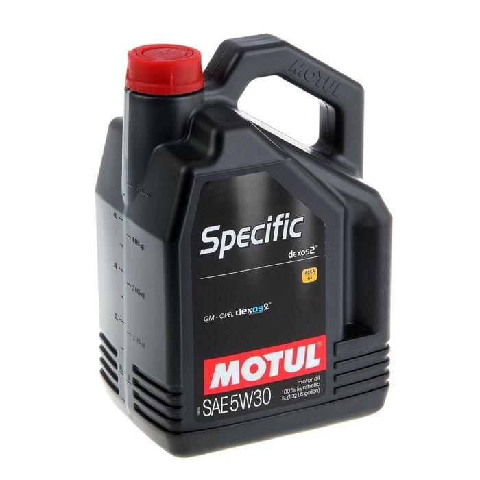 Моторное масло MOTUL Specific DEXOS2 5W-30, 5 л