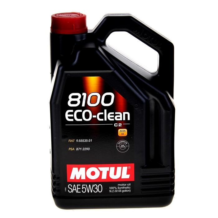 Масло моторное Motul 8100 ECO-clean 5w-30, 5 л