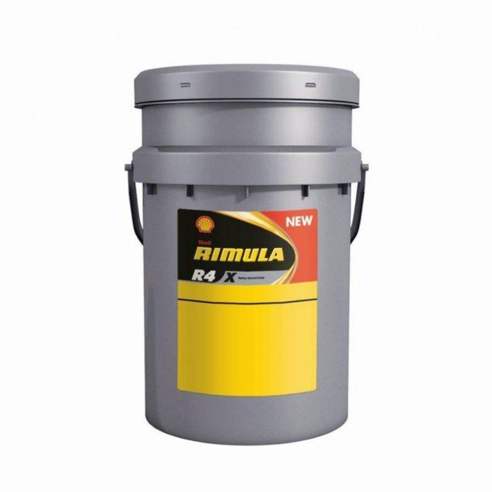 Масло моторное Shell Helix RIMULA R4X 15W-40, 20 л