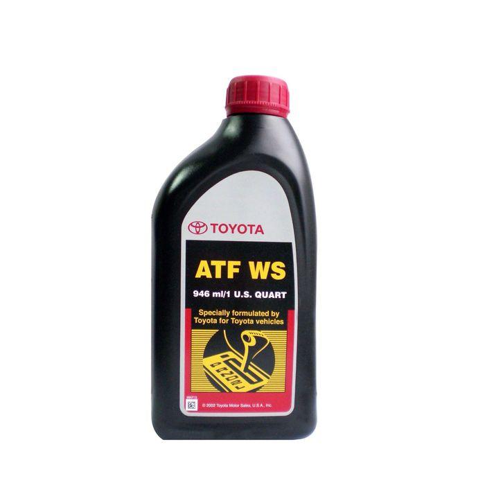 Масло трансмиссионное Toyota ATF WS 00289ATFWS, 946 мл