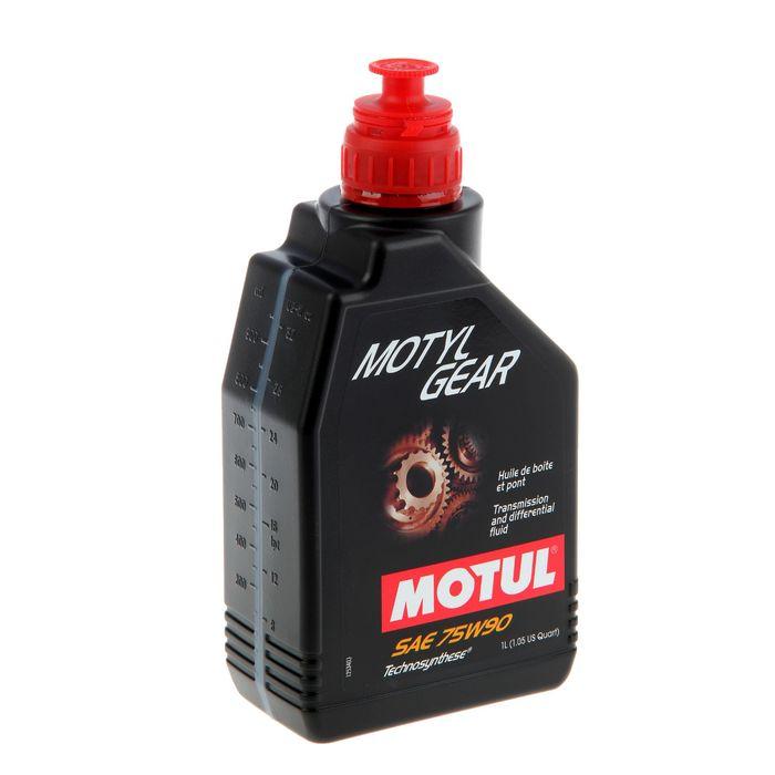 Масло трансмиссионное Motul Gear 75W-90, 1 л
