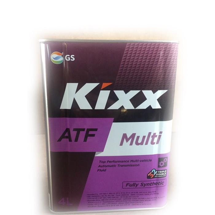 Трансмиссионная жидкость Kixx ATF Multi, 4 л мет.