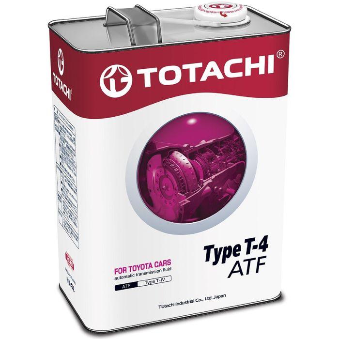 Трансмиссионная жидкость Totachi ATF TYPE T-IV, 4 л